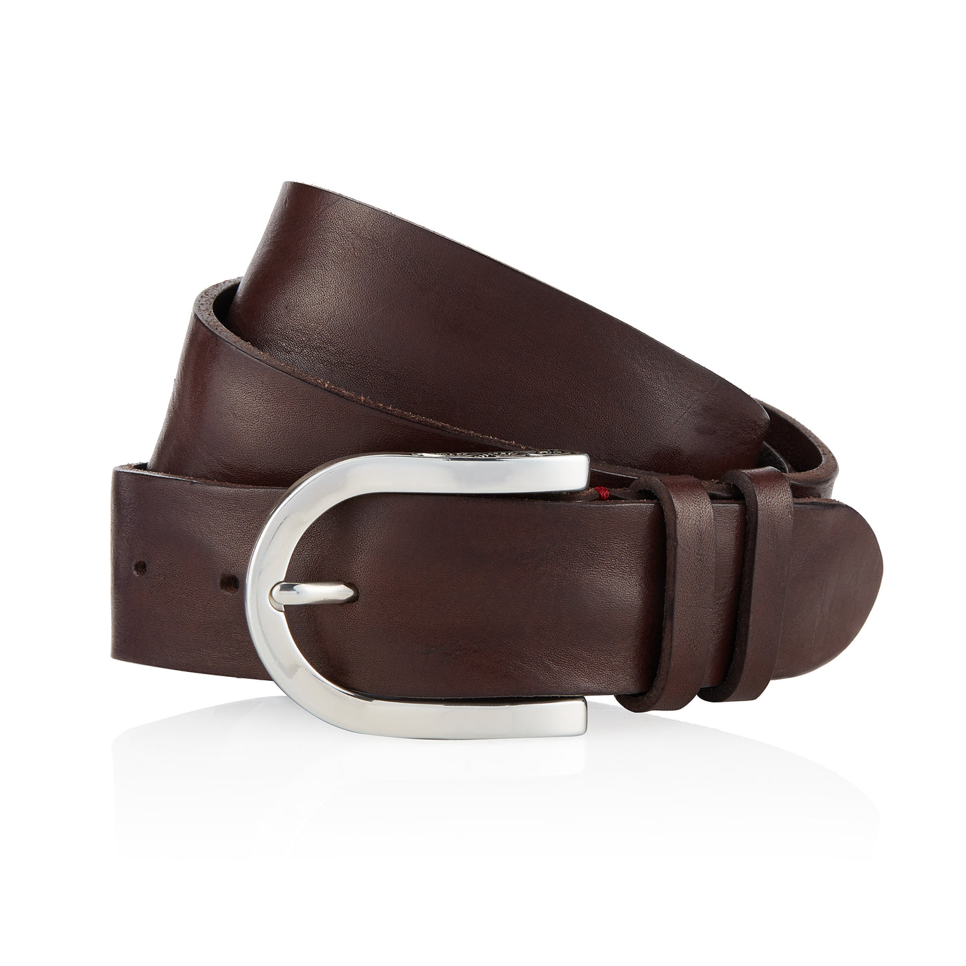 Afar - Handcrafted Italian Belt / Dark Brown