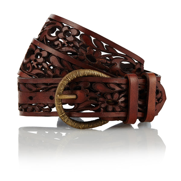 Beja - Handcrafted Italian Belt / Dark Brown