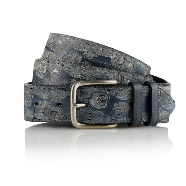 Dayak - Handcrafted Italian Belt / Black
