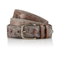 Dayak - Handcrafted Italian Belt / Mud