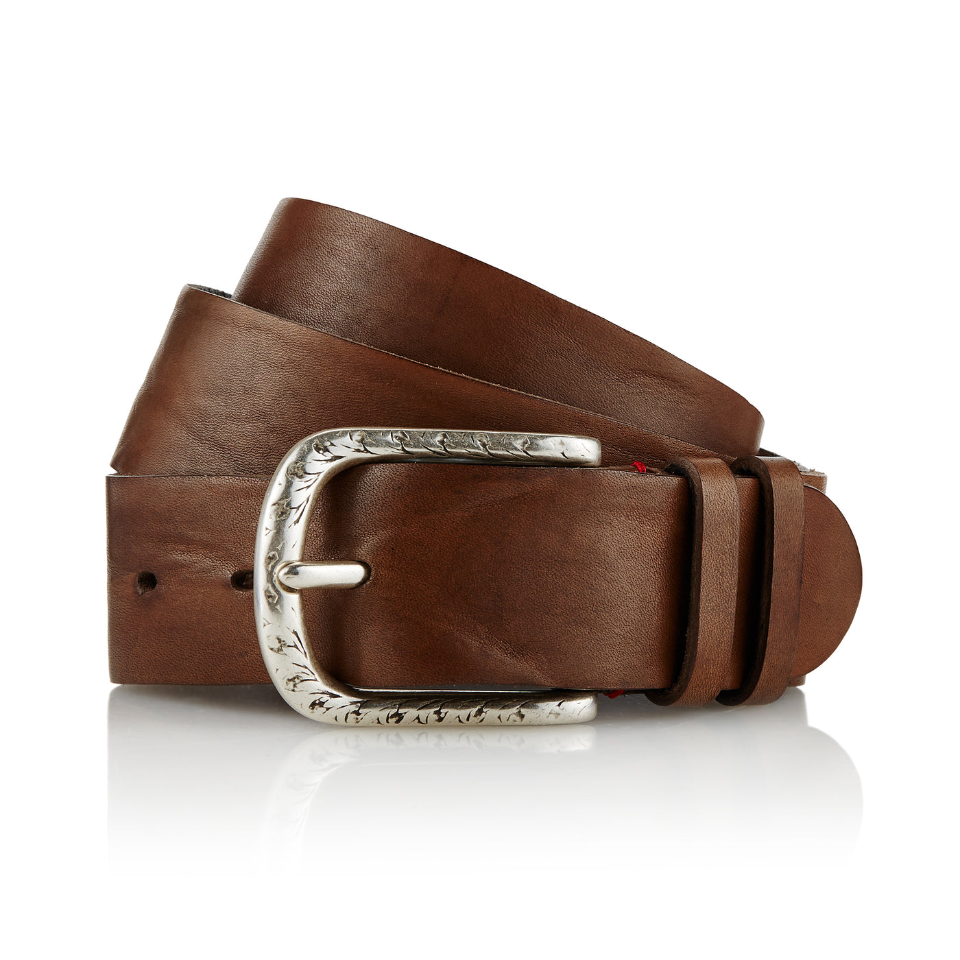 Dene - Handcrafted Italian Belt / Mud