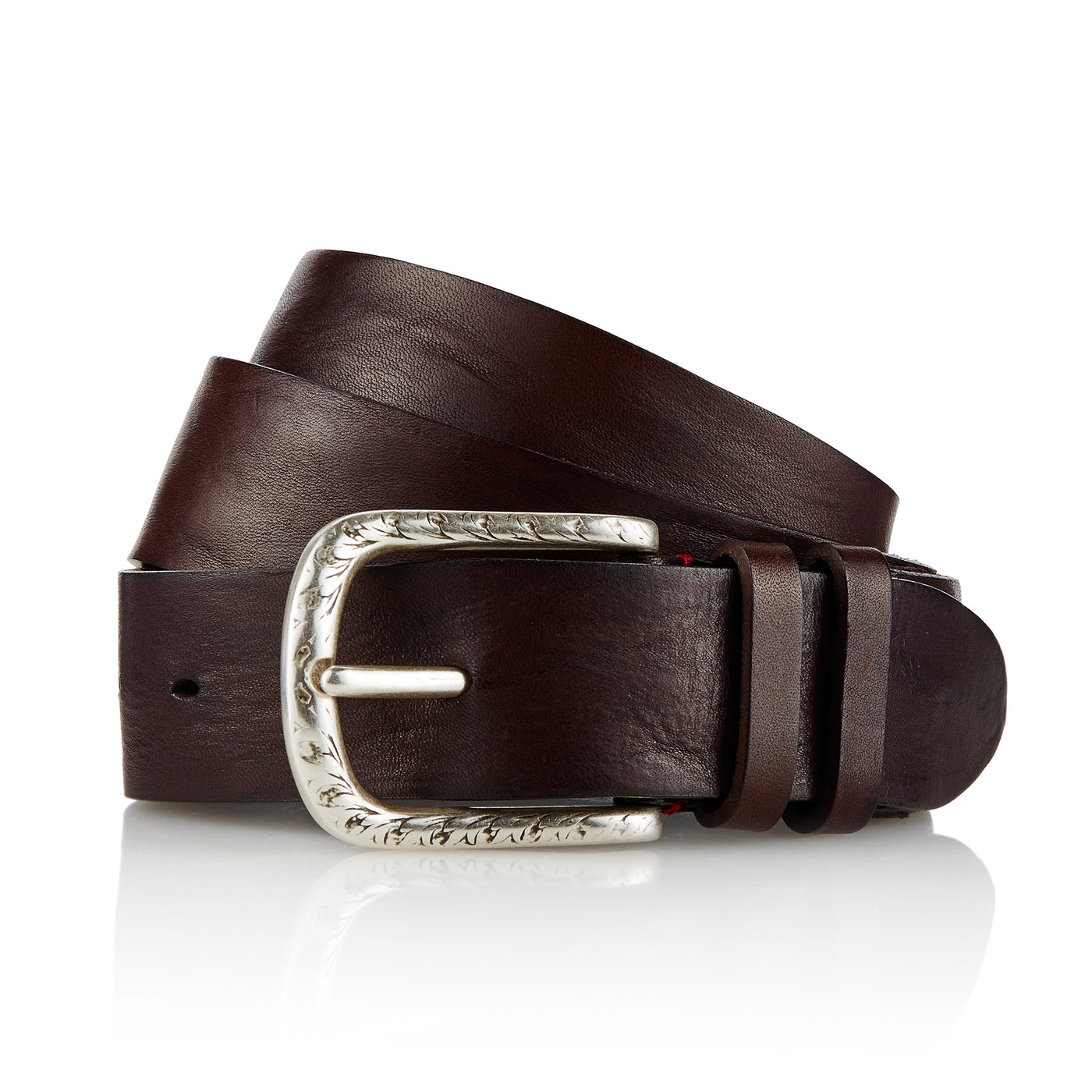 Dene - Handcrafted Italian Belt / Dark Brown