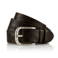 Dene - Handcrafted Italian Belt / Dark Green