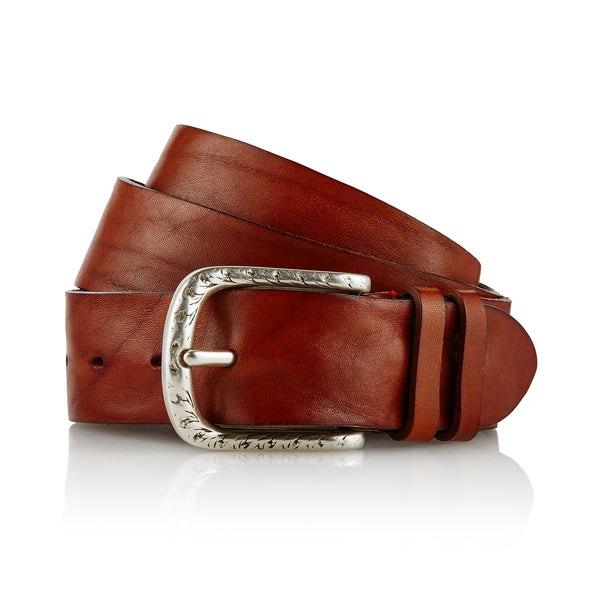 Dene - Handcrafted Italian Belt / Brown