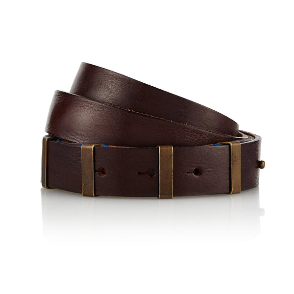 Dinglare - Handcrafted Italian Belt / Dark Brown