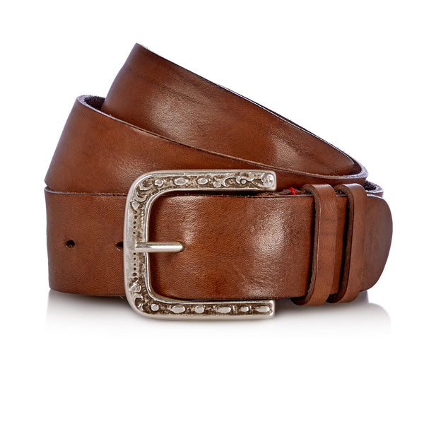 Even - Handcrafted Italian Belt / Mud