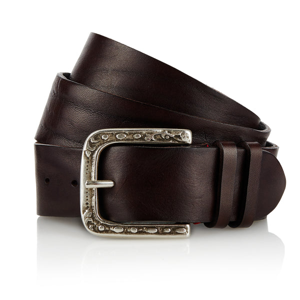 Even - Handcrafted Italian Belt / Dark Brown