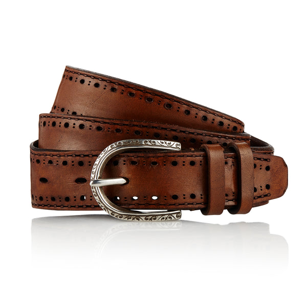 Gaucho MI - Handcrafted Italian Belt / Mud