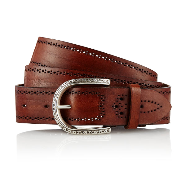 Gaucho - Handcrafted Italian Belt / Brown