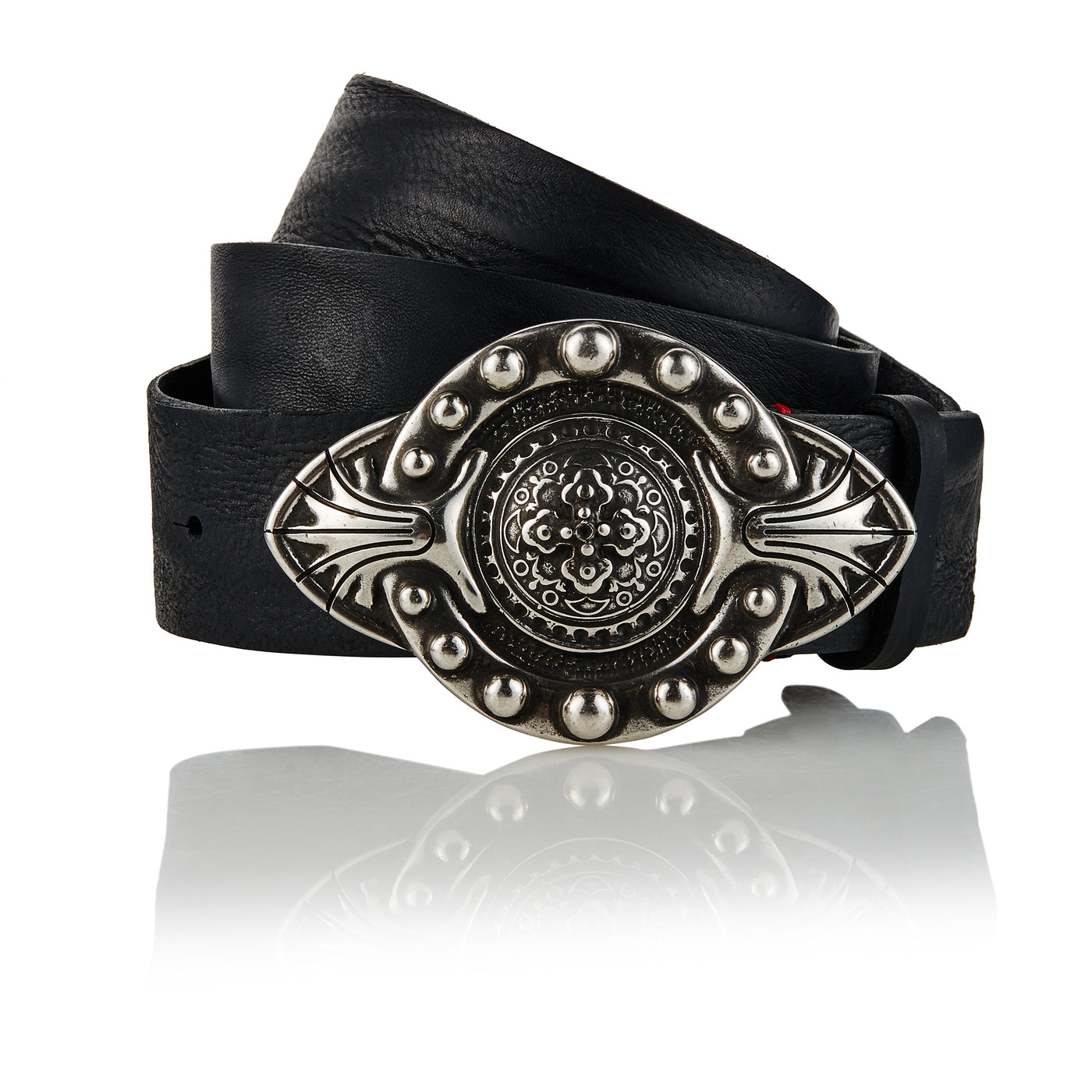 Jenische - Handcrafted Italian Belt / Black