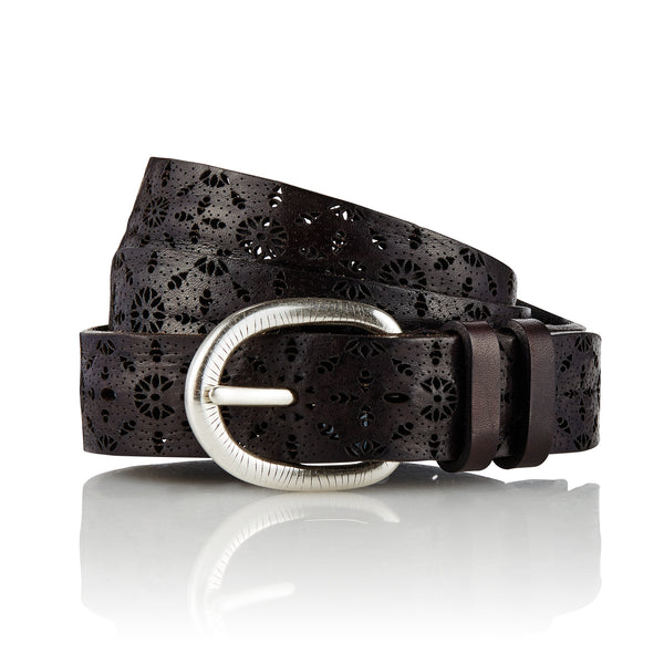 Ainu - Handcrafted Italian Belt / Black