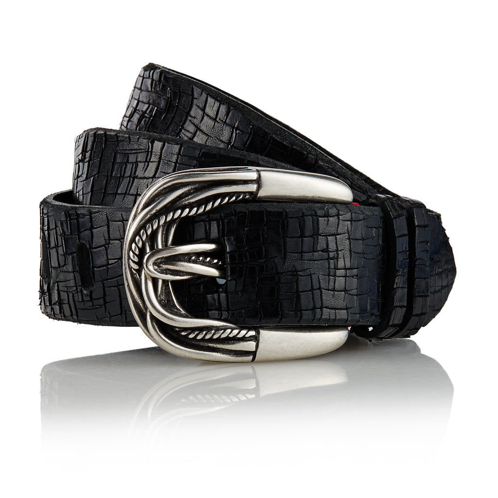 Kochi - Handcrafted Italian Belt / Black