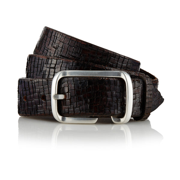 Lamut - Handcrafted Italian Belt / Dark Brown