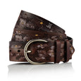 Maohis - Handcrafted Italian Belt / Dark Brown