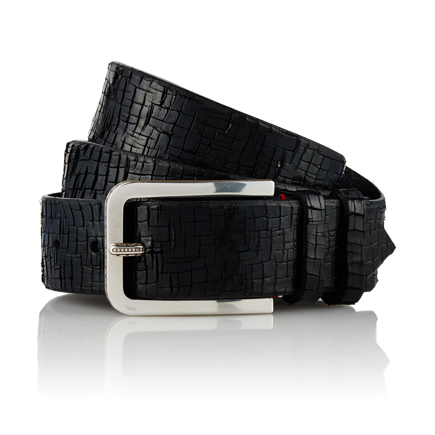 Memel - Handcrafted Italian Belt / Black