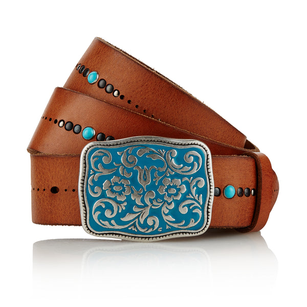 Mercheros - Handcrafted Italian Belt / Tan