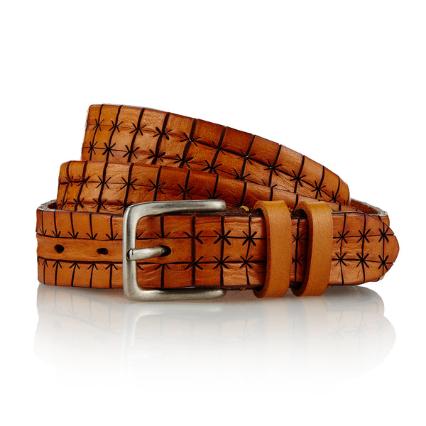 Nenet - Handcrafted Italian Belt / Tan