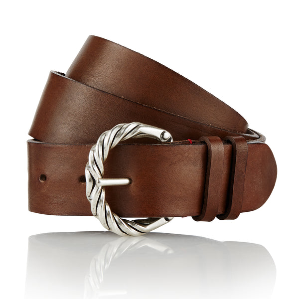 Odul - Handcrafted Italian Belt / Mud