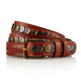 Pavee - Handcrafted Italian Belt / Tan