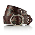 Surma - Hand painted Italian Belt / Brown