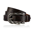 Tater - Handcrafted Italian Belt / Dark Brown