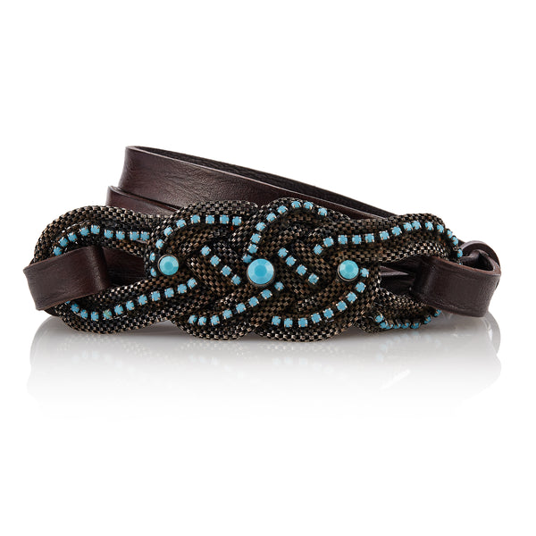 Turkana - Handcrafted Italian Belt / Dark Brown