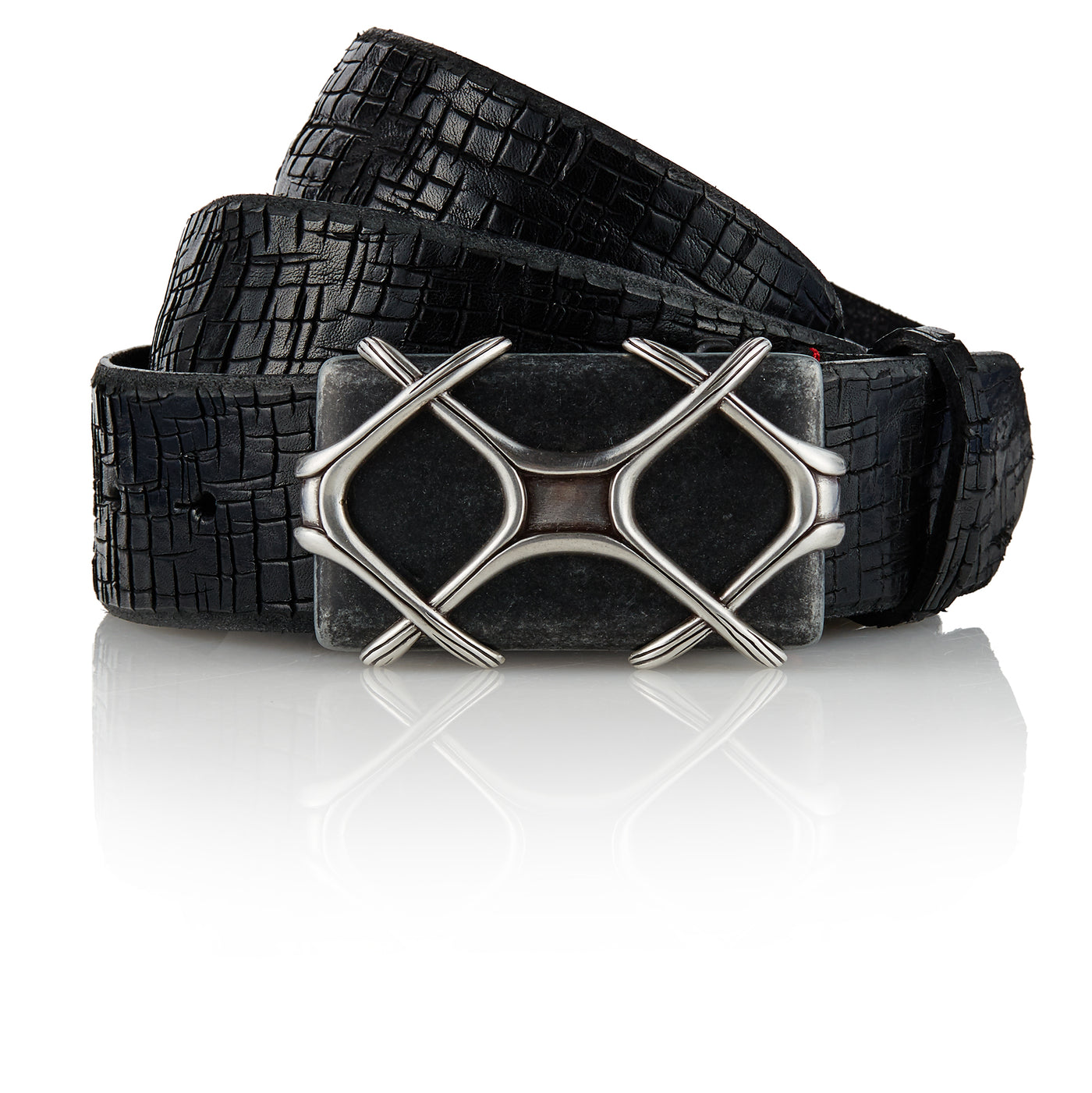 Vandriar - Handcrafted Italian Belt / Black
