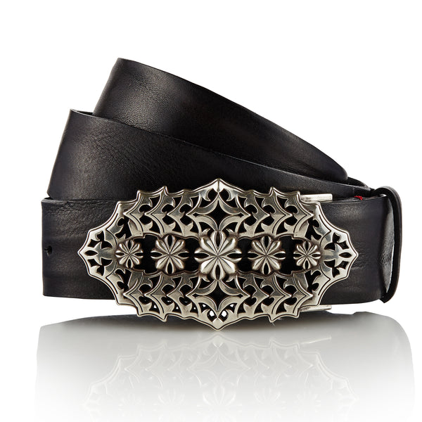 Vanjara - Handcrafted Italian Belt / Black