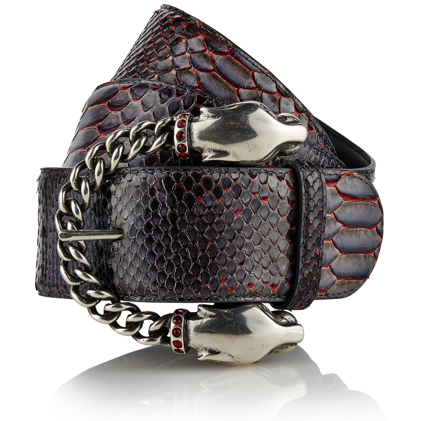 Banjara - Handcrafted Snake Leather Belt