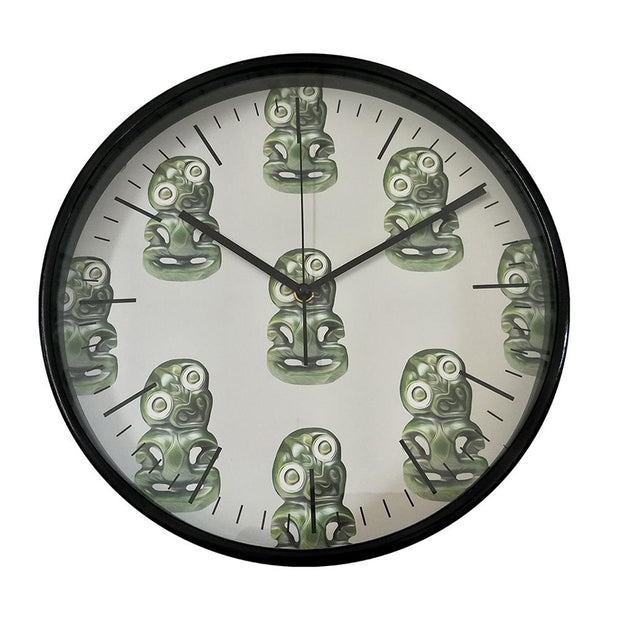 Wall Clock Bamboo
