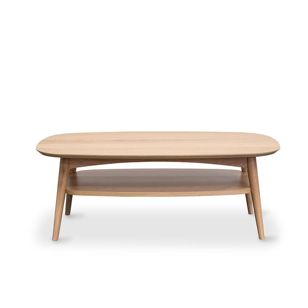 PRE-ORDER Oslo Coffee Table w Shelf