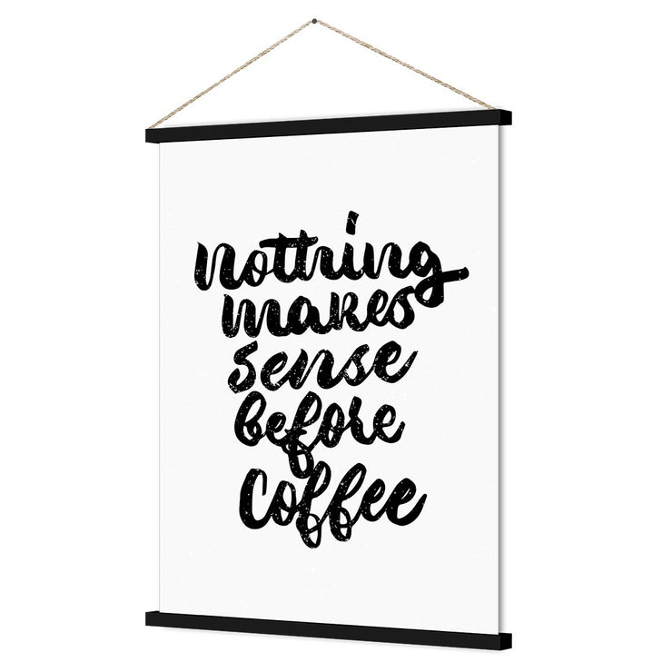 Nothing Sense Coffee Kakemono