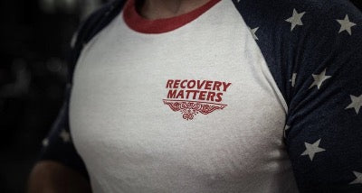 Star Spangled Supps-Recovery Matters Patriot Raglan