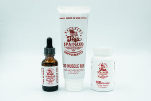 White Label Triple Threat CBD Pack