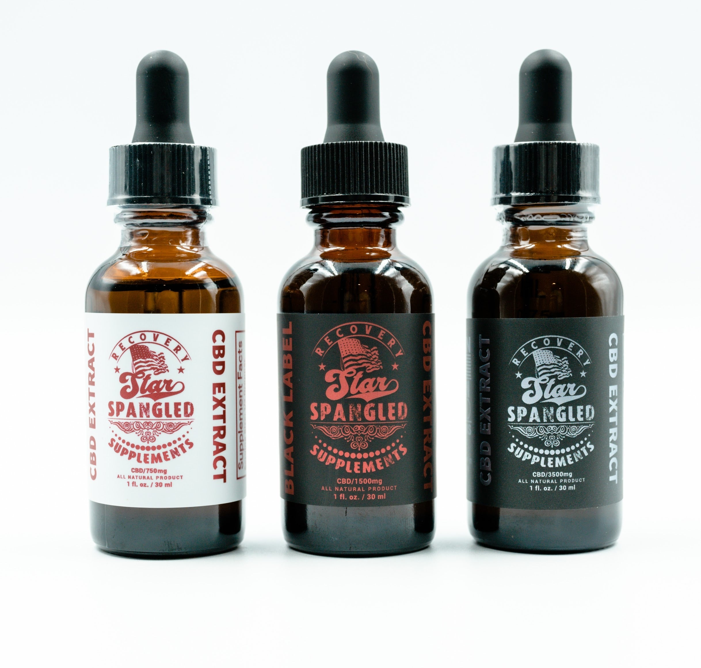 5750MG CBD Oil Ultimate Trio Pack