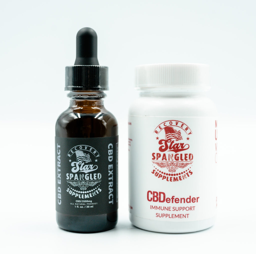 3500MG CBD Oil Immune Optimization Pack