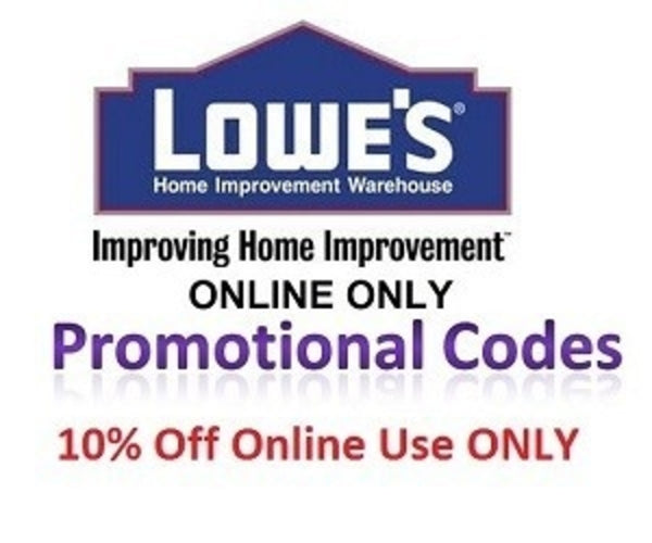 Lowes Discount Coupon Promo Promotional Codes