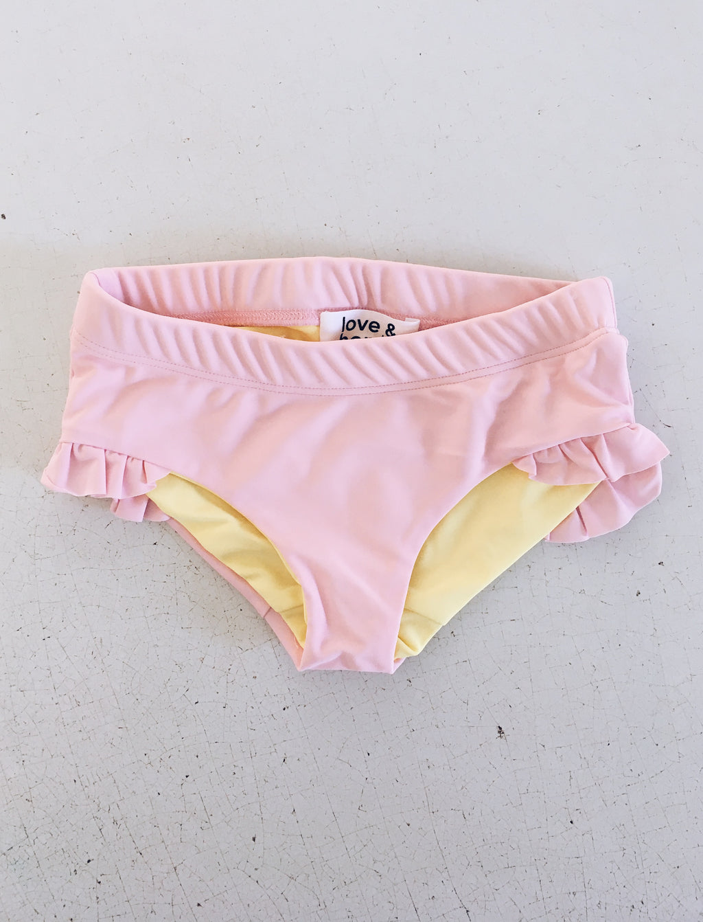 Agatha Swim Knickers - Soft pink