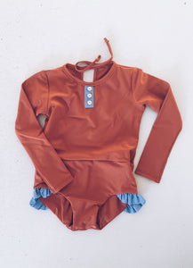 Margot Swimsuit - Rust