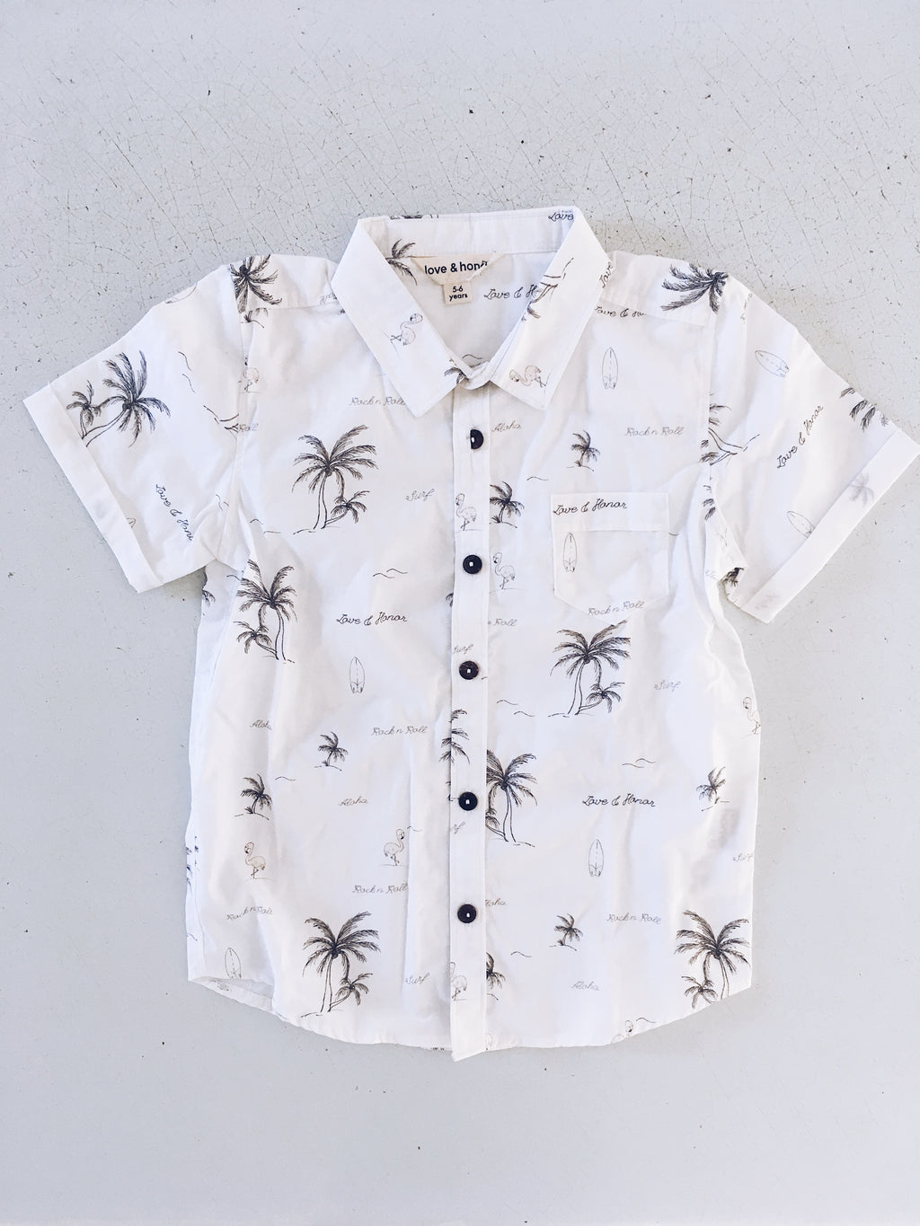Organic Cotton Hawaiian Shirt