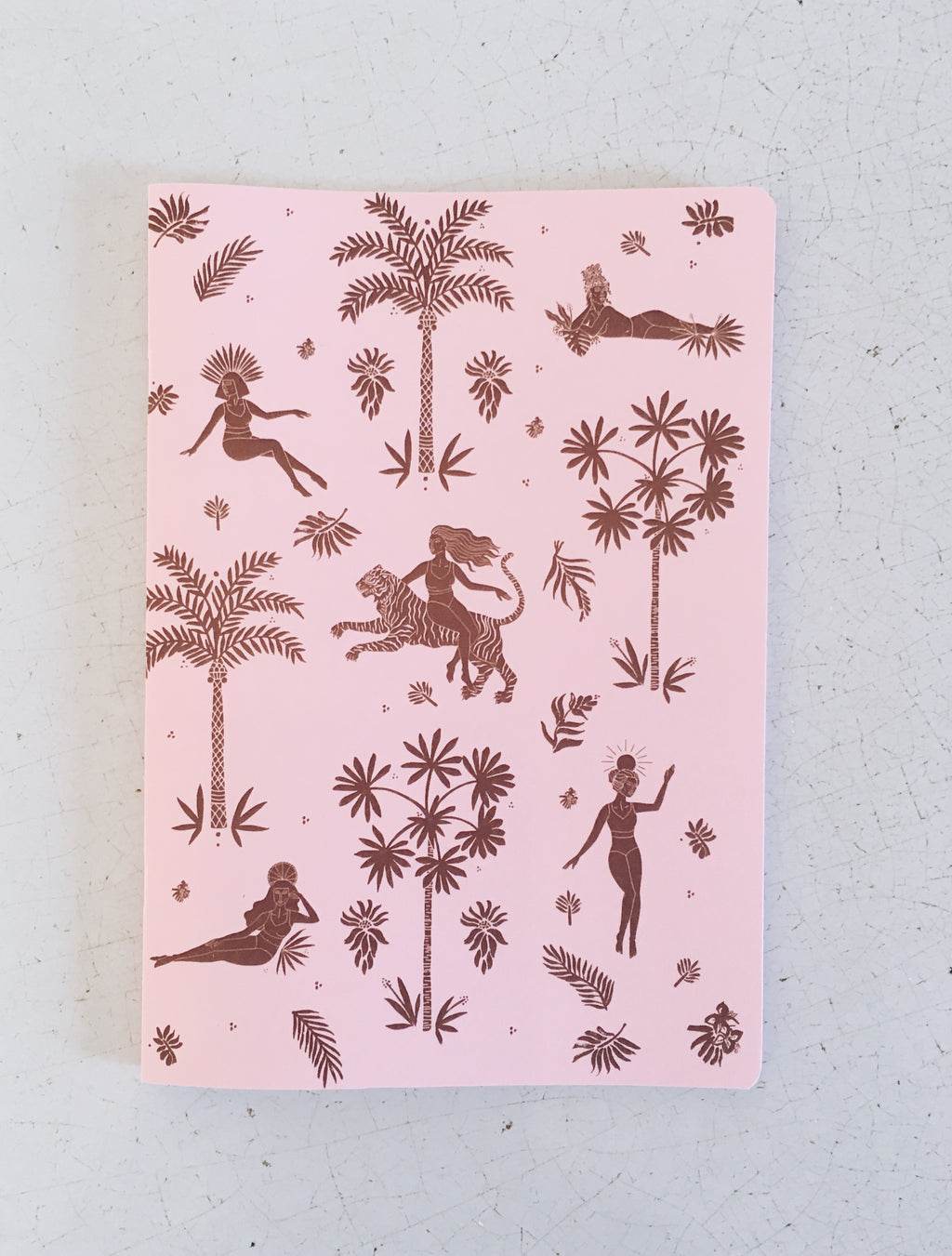 Goddess Notebook - Pink