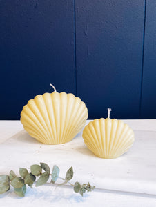 Essential Oil Shell Candle Set - Bergamot