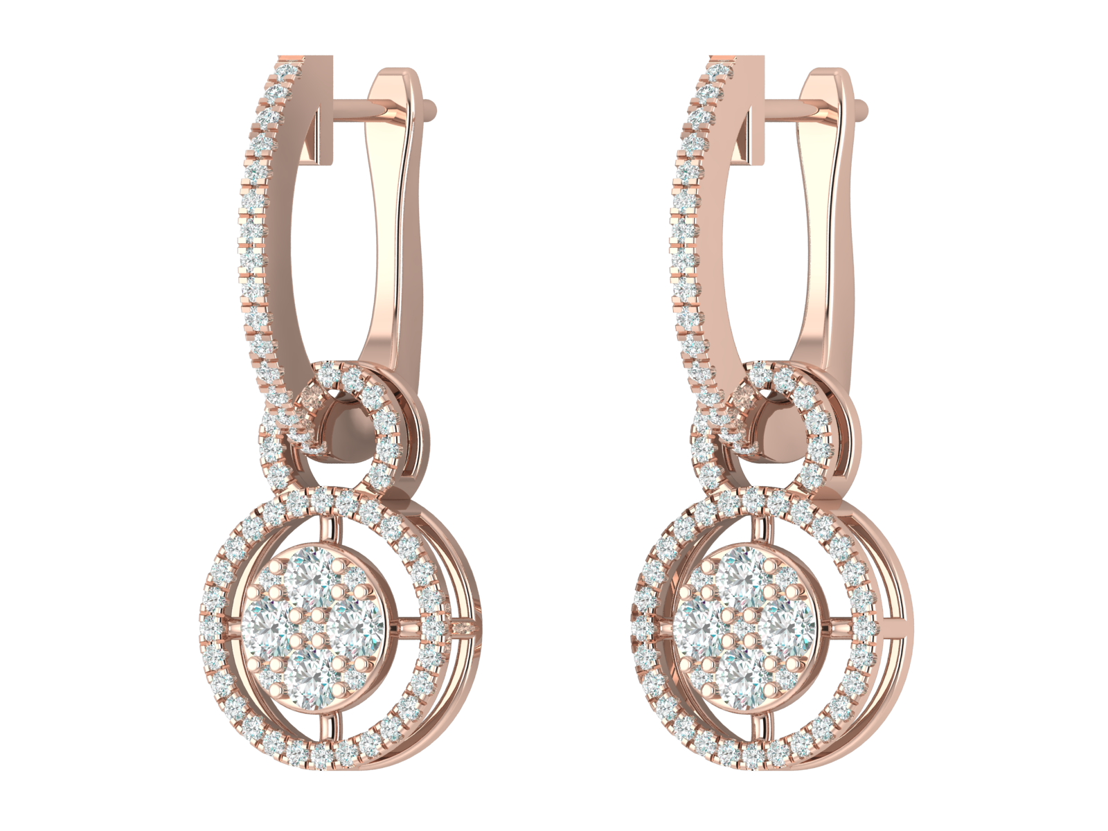 Valor - Diamond Hoop Earring