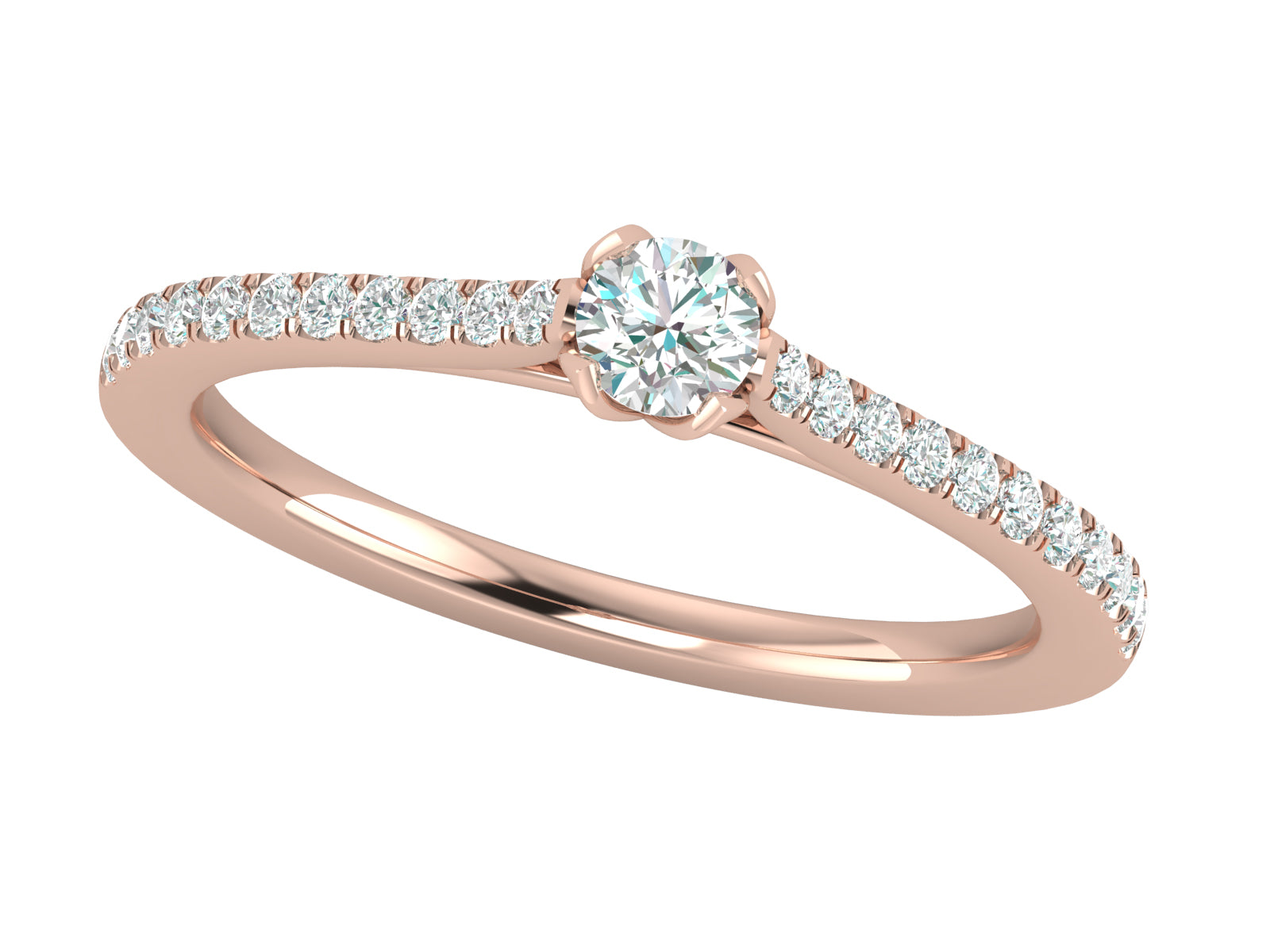 Carino - Solitaire Engagement Ring