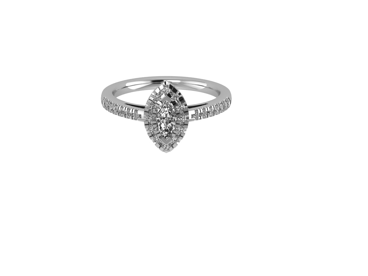 Aimi - Diamond Engagement Ring