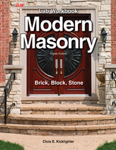 Modern Masonry: Brick, Block, Stone [Lab workbook]