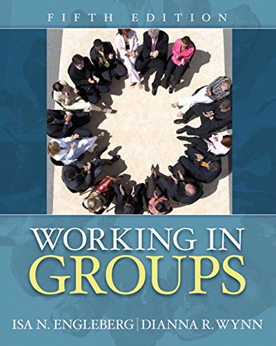Working in Groups (5th Edition)