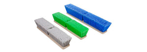 "14"" Green Premium truck wash Brush (no bumper) - PressureCity"