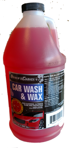 Car Wash & Wax soap