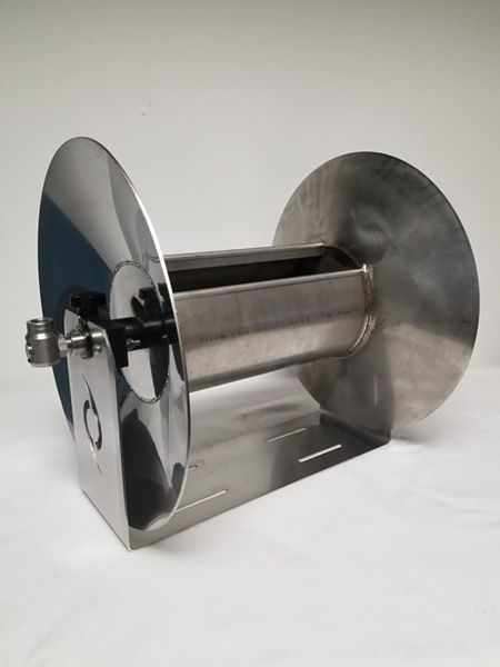 Hurricane Stainless Steel Hose Reel - PressureCity